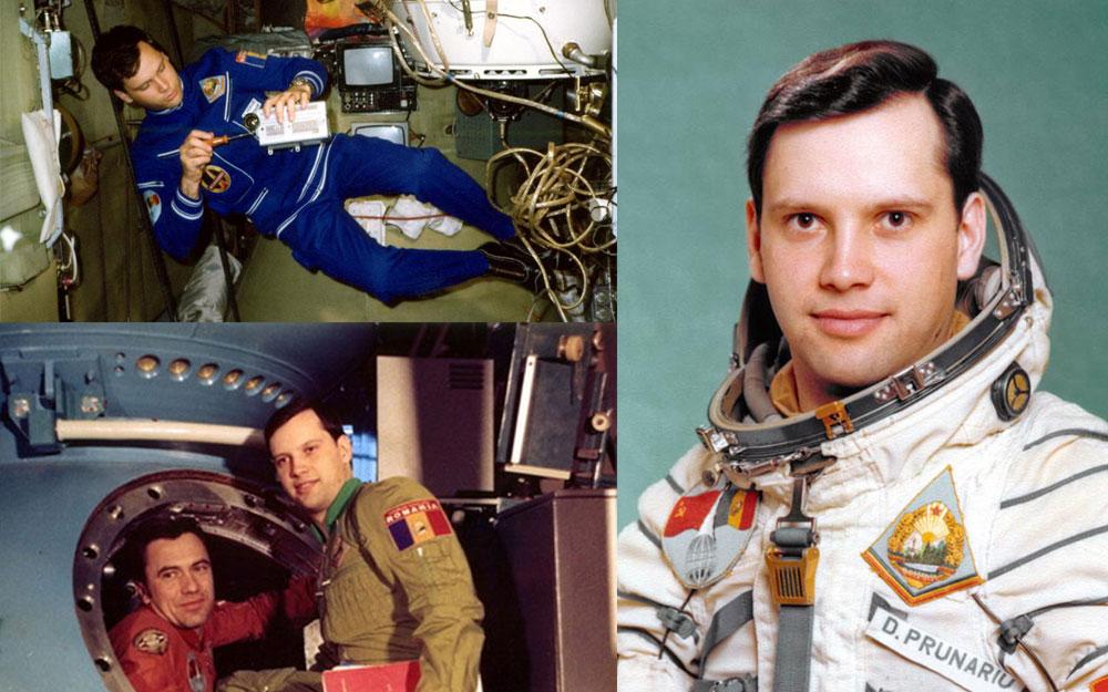 DUMITRU PRUNARIU, primul cosmonaut român, și activitatea sa curentă